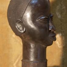 Cabeza bronce I