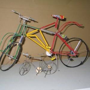 Bicicleta reciclaje I