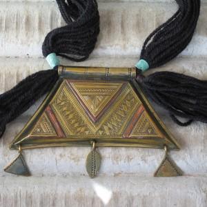 Colgante Tuareg dorado I