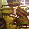Cestas Ghana de colores