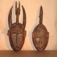 Pareja máscaras Bambara