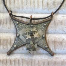 Amuleto Tuareg de plata antigua