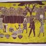 Batik Escena cotidiana