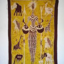 Batik Cazador africano