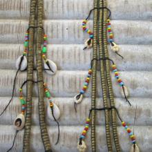 Pendientes tribales Wodaabe-Bororo
