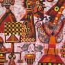 """Gran batik africano """"Saludo acestros V"""""""