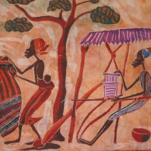 """Batik """" Oficios tradicionales africanos"""""""