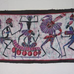 Batik Baile africano