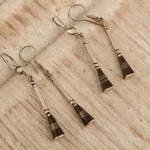 Pendientes tuareg de baston