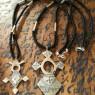 Cruces tuareg pequeñas