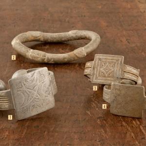 Tobilleras antiguas tuareg