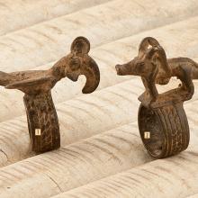 Anillos bronce etnia Lobi