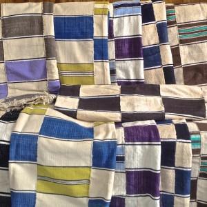 Mantas africanas algodón