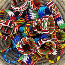 "Pulseras massai ""chicote"""