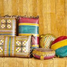 Cojines almohadas tuareg