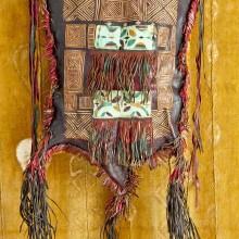 Bolso cuero antiguo tuareg