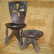 Silla etíope antigua
