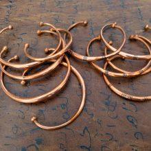 Pulseras tuareg de cobre
