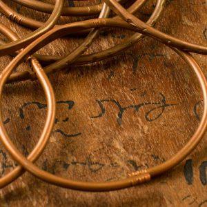 Pulsera de cobre hombre Kenia