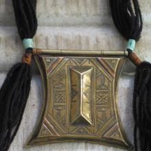 Colgante Tuareg dorado II