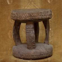 Taburete antiguo Dogón III