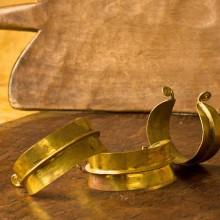 Pulsera fulani dorada