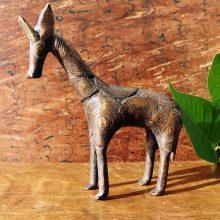 Jirafa PEQUEÑA bronce Africa