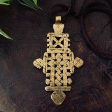 Cruz dorada Etiopía
