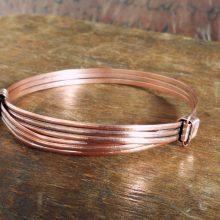 Pulsera nudos cobre