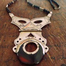 Collar tuareg articulado de Agata