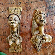 Tiradores de bronce Reino de Ghana
