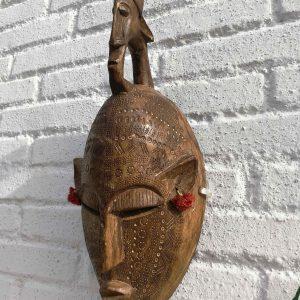 """Máscara Bambara """"Sabio"""""""