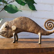 Camaleón bronce Pais Lobi
