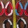 Pendientes Masai bicolor