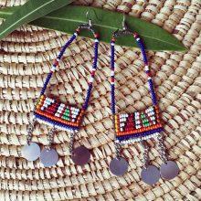 Pendientes tribales Masai