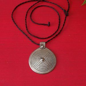 Colgante espiral plata Bereber