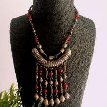 Collar amuleto Harar Etiopía
