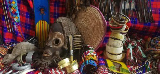 exposición artesania africana navidad 2020