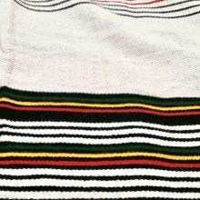 Pañuelo algodón de Etiopía (negro)