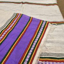 Pañuelo algodón de Etiopía (Morado)
