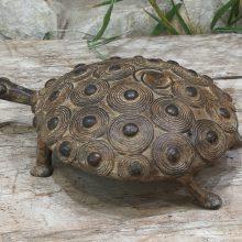 Tortuga GRANDE bronce Lobi