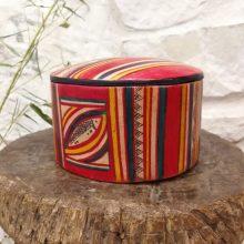 Caja tuareg cuero