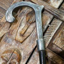 Estilete antiguo puño plata