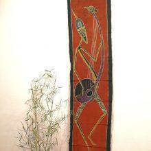 Batik africano alargado Ngoni