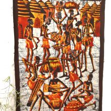 Batik africano Village