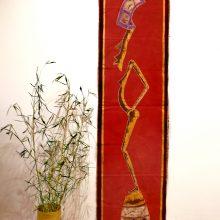 Batik alargado escultura
