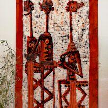 Batik africano matrimonio