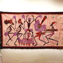 Batik Africano Baile en Rosa