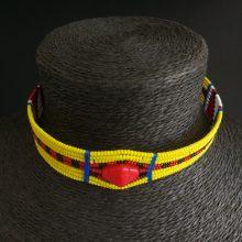 Gargantilla Masai amarilla
